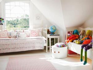 简欧风格轻松舒适儿童房装修效果图大全
