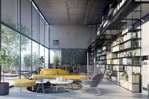 现代loft风格别墅室内装修效果图赏析