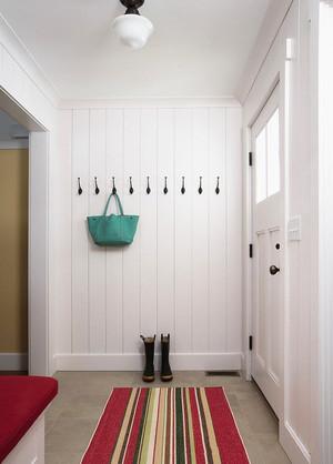 现代简约美式风格大户型玄关鞋柜设计装修效果图