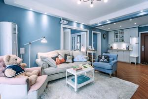 清新自然风格两室两厅室内装修效果图赏析