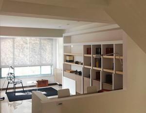 80平日式风格小复式楼室内装修效果图赏析