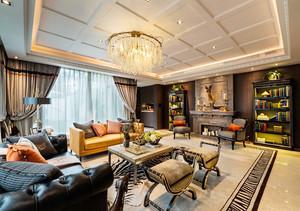 精致典雅现代欧式风格别墅室内装修效果图鉴赏