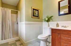 现代美式风格卫生间淋浴房装修效果图赏析