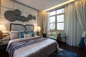 28平米现代风格卧室背景墙装修效果图赏析