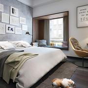 北欧风格一居室卧室飘窗装修效果图赏析