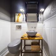 8平米东南亚风格卫生间洗手盆效果图鉴赏
