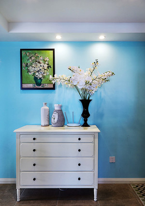 简欧风格小户型室内玄关设计效果图赏析