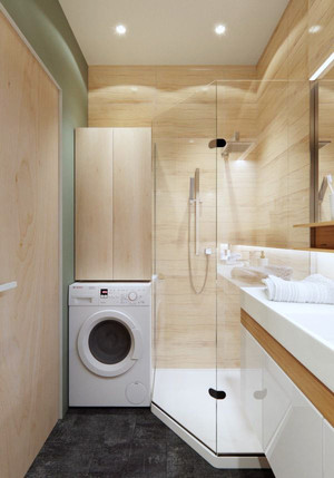 50平米小户型现代简约风格室内装修效果图