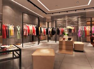 225平米现代风格服装店装修效果图鉴赏