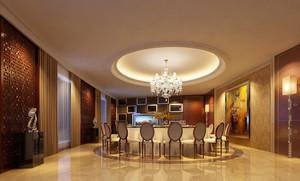 60平米经典欧式风格酒店包厢设计装修效果图