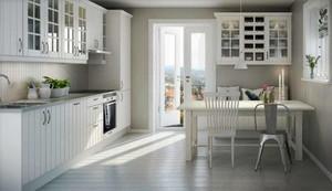北欧风格简约时尚创意开放式厨房设计效果图大全