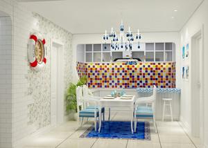地中海风格小户型餐厅装修效果图赏析