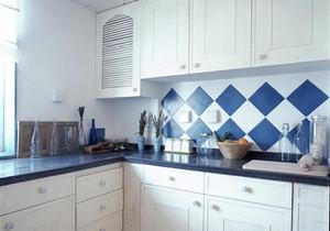 地中海风格两居室厨房设计装修效果图
