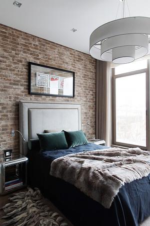后现代风格两室两厅一卫室内装修效果图