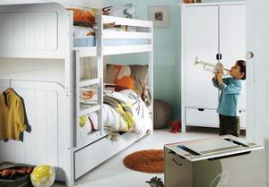 16平米简欧风格精致儿童房间装修效果图大全