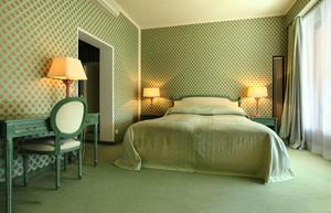 现代美式风格卧室墙纸装修效果图赏析