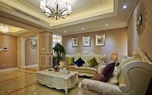 162平米精致典雅欧式风格大户型室内装修效果图鉴赏