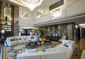 220平米现代风格别墅室内整体装修效果图鉴赏