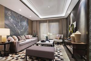 120平米新中式风格室内装修效果图鉴赏