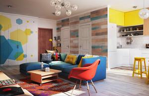 现代简约风格小户型室内装修效果图鉴赏