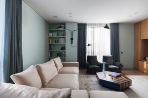 90平米现代风格室内装修效果图赏析