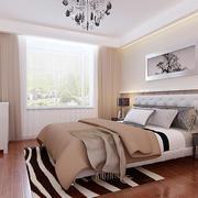 26平米现代简约风格卧室窗帘设计效果图鉴赏
