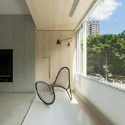 现代风格大户型封闭式阳台装修效果图赏析