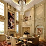 新古典主义风格别墅客厅装修效果图赏析