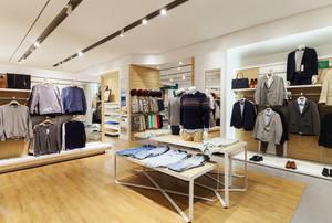 200平米现代风格服装店装修效果图赏析