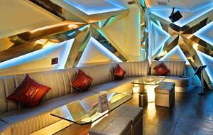 30平米精致后现代风格KTV沙发设计装修效果图