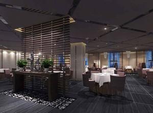 80平米后现代风格咖啡厅设计装修效果图