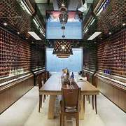 现代风格别墅室内酒柜设计装修效果图