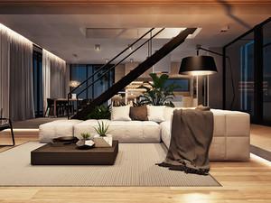 后现代风格别墅室内装修效果图赏析