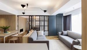 日式风格两室两厅一厨一卫室内装修效果图赏析