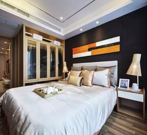 80平米新中式风格室内装修效果图鉴赏