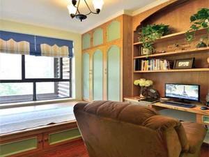 90平米美式田园风格室内装修效果图赏析