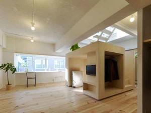 自然舒适禅意日式风格复式楼室内装修效果图赏析