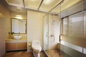 8平米日式风格卫生间淋浴房设计装修效果图