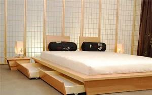 经典日式风格卧室装修效果图