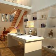115平米现代风格跃层书房装修效果图鉴赏