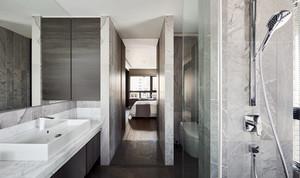 60平米后现代风格小户型室内装修效果图
