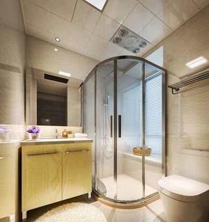 现代简约风格玻璃卫生间淋浴房设计效果图