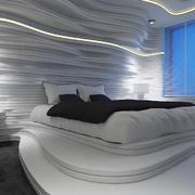 22平米现代简约风格创意卧室装修效果图赏析