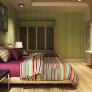 东南亚风格三居室卧室装修效果图赏析