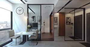 40平米北欧风格单身公寓室内装修效果图