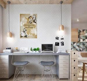 60平米宜家简约风格一居室小户型装修效果图