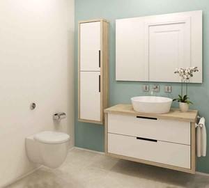 都市简约风格小户型卫生间装修效果图赏析