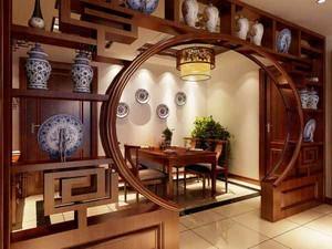 中式风格一居室小户型装修效果图赏析