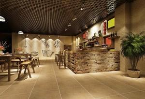 复古时尚风格酒吧设计装修效果图