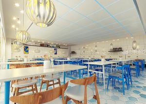 170平米现代简约风格餐厅装修效果图鉴赏